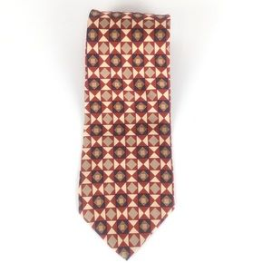 Corporate collection Jos A Banks patterned tie